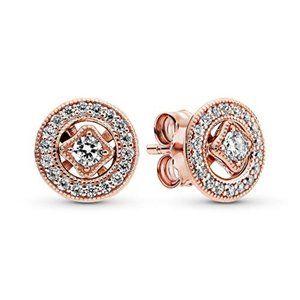 ✨Pandora Vintage Circle Stud Earrings